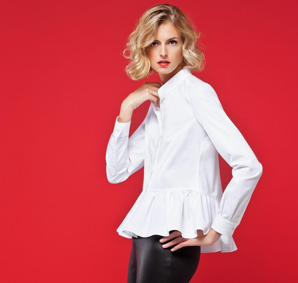 Verano camisa de moda para ropa mujer 3/4 impresa manga